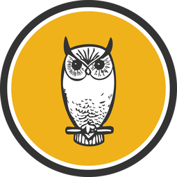 Graphic Design + Print Studio - Greenville, SC - Perched Owl